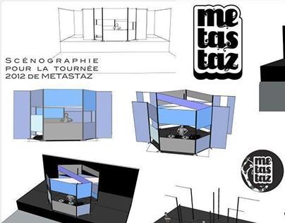 Set Design for DJ Metastaz