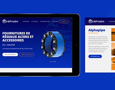 Alphapipe - Website
