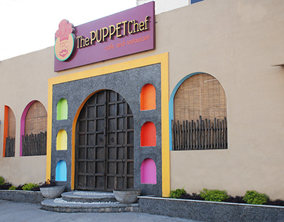 """""""The PUPPET Chef"""" restaurant and cafe`"""