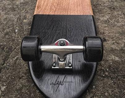 Classic Wood Skateboard