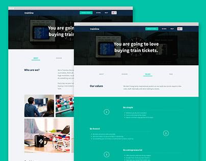 Trainline EU - Website Rebranding