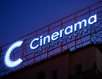 Cinerama I Logo design