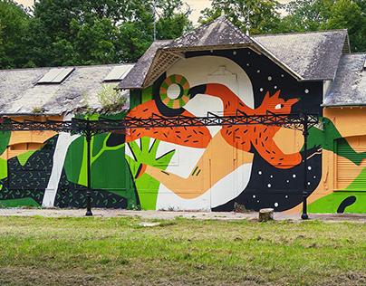 My Mural For LaBel Valette Festival. 2021