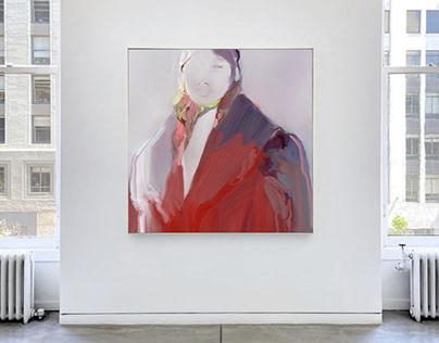 Big Red Coat, gallery view