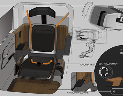 NISSAN PERSONAL MOBILITY INTERIOR PROJECT