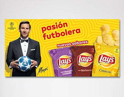 Lays Promo #PasionFutbolera Product Label POP Material