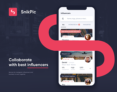 SnikPic – Mobile App Design