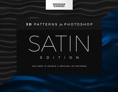 Satin Fabric Patterns for Photoshop