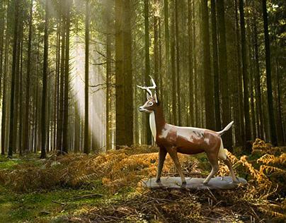 «Deer» Print Ad – John Deere Argentina