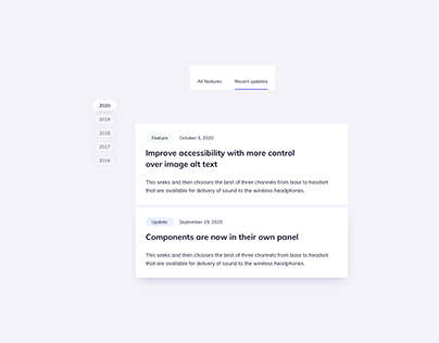 Day 1204・Features Page UI Component Designs