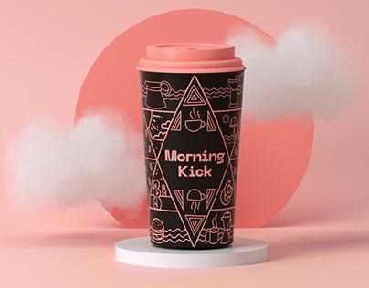 Morning Kick Branding