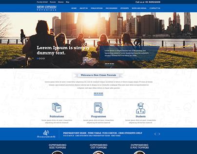 New Citizen Tutorials - Web Designing