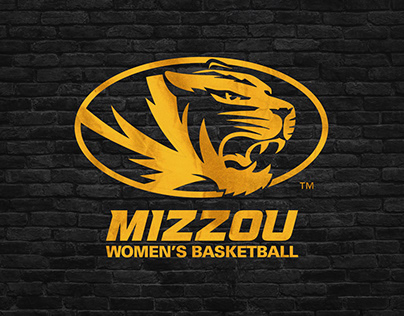 Mizzou Women's Basketball 2019-20 Branding