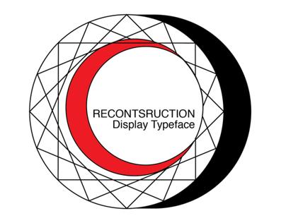 RECONSTRUCTION font