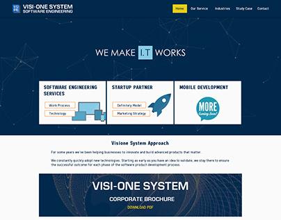 New Web Design of Visione