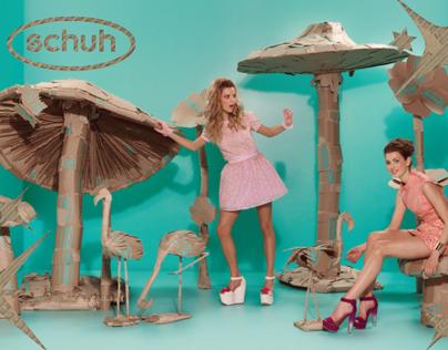 Shoe box movie sets - SCHUH