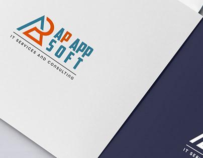Ap App Soft logo design