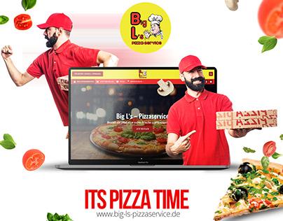 Pizza Online-Bestellsystem - Delivery Website - UI/UX