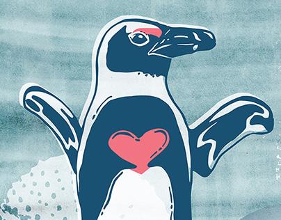 Boulder's Penguin