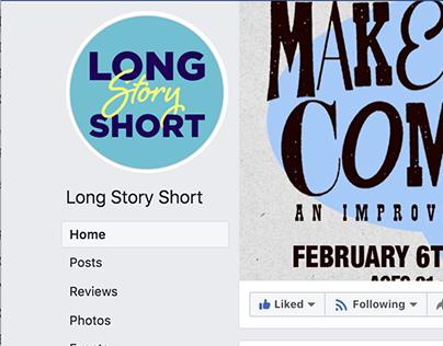 Long Story Short | Logo | Short Form Improv Team
