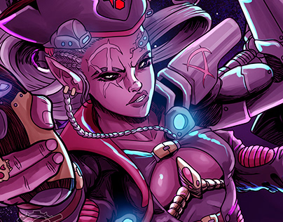 Captain Nova (detail)