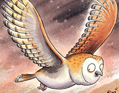 A LITTLE OWL CALLED HOOTY