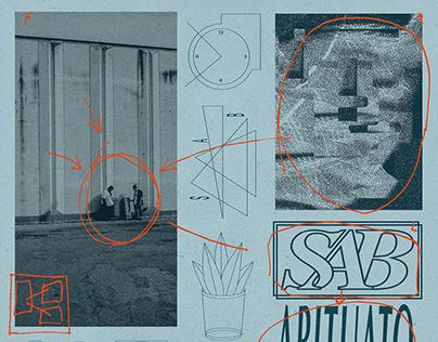 SAB. Brand Identity and Album Cover Design