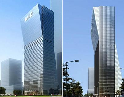 深圳百麗總部大廈導視設計