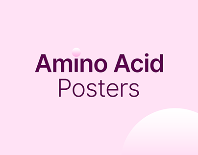 20 Amino Acids Poster Design