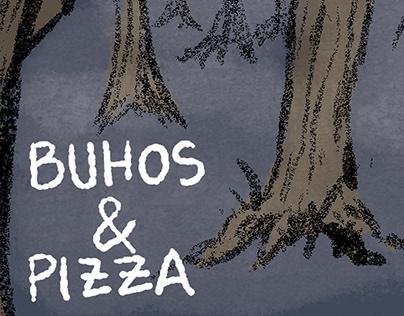 Buhos & Pizza | Comic
