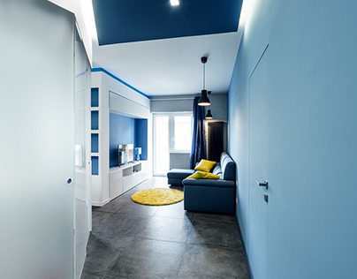 Prismatic Blue Apartment