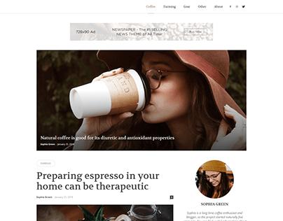 Newspaper Coffee Blog