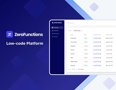 ZeroFunctions — Low-Code Platform