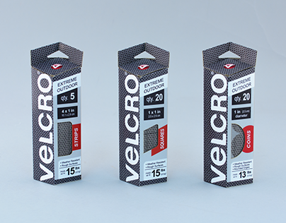Velcro Extreme Outdoor Packaging