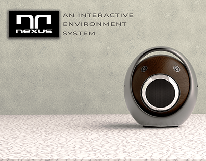 NEXUS an interactive environment system AR/VR projector