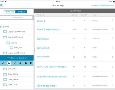 My VMware Mobile Folder Editing