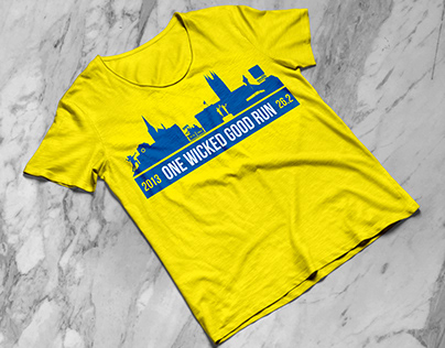 Boston Marathon: T-shirt Design