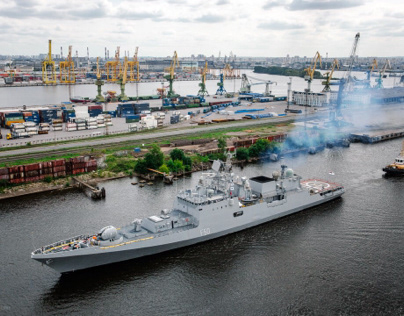 «Tarkash» - frigate of Indian Navy
