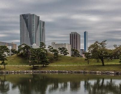 Tokyo Hamarikyu Garden