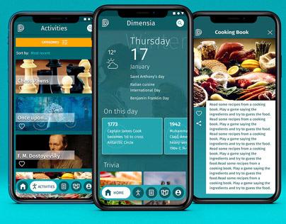 Dimensia app
