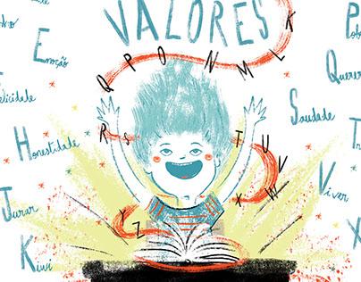 Alfabeto dos Grandes Valores | Projeto Ajudaris '15