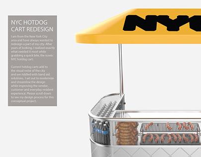 NYC Hot Dog Cart Redesign
