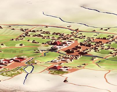 Mitla 3D - general view - WIP
