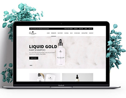 E-commerce l Ameera London E-commerce Shop Website