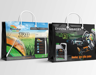 Bags for agro company RoundUp