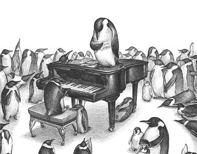 Pianist peuguins