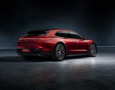// Porsche Taycan Indoor