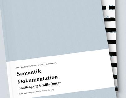 Semesterdokumentation - Semantik & Typografie I