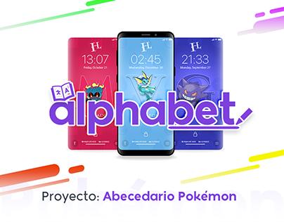 ABC Minimal Pokemon [Wallpaper / Memorama]