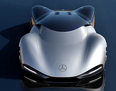 Mercedes Vision Mantilla Concept electric Lemans car